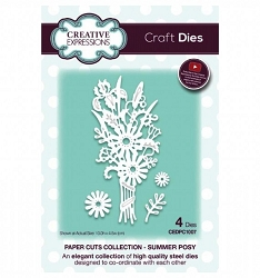 Creative Expressions - Die - Paper Cuts Collection Summer Posy