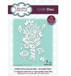 Creative Expressions - Die - Paper Cuts Collection Autumn Posy