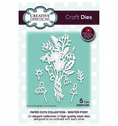 Creative Expressions - Die - Paper Cuts Collection Winter Posy