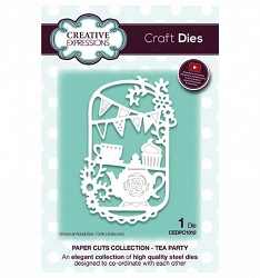 Creative Expressions - Die - Paper Cuts Collection Tea Party