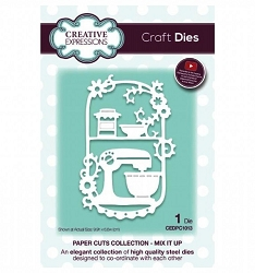 Creative Expressions - Die - Paper Cuts Collection Mix It Up