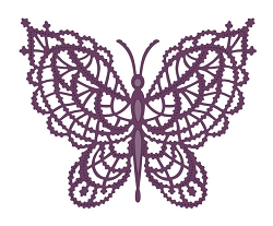 Sue Wilson Designs - Die - Finishing Touches Collection - Lace Butterfly