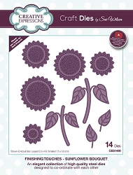 Sue Wilson Designs - Die - Finishing Touches Collection - Sunflower Bouquet