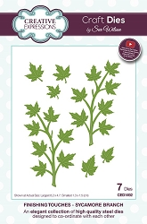 Sue Wilson Designs - Die - Finishing Touches Collection - Sycamore Branch