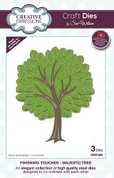 Sue Wilson Designs - Die - Finishing Touches Collection - Majestic Tree