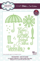 Sue Wilson Designs - Die - Necessities Collection - Rain or Shine