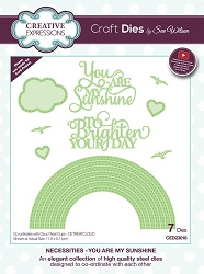 Sue Wilson Designs - Die - Necessities Collection - You Are My Sunshine
