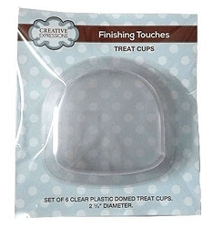 Sue Wilson Designs - Accessory - Fillables Collection - Set of 6 dome Treat Cups (for use with the Domed Snow Globe die)