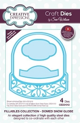 Sue Wilson Designs - Die - Fillables Collection - Domed Snow Globe