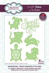 Sue Wilson Designs - Die - Necessities Collection - Sweet Dreams Little One
