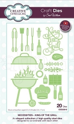Sue Wilson Designs - Die - Necessities Collection - King of the Grill