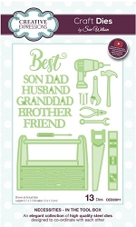Sue Wilson Designs - Die - Necessities Collection - In The Tool Box