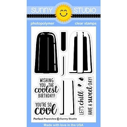 Sunny Studio - Clear Stamp - Perfect Popsicles