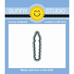 Sunny Studio - Cutting Dies - Heartfelt Wishes Candle