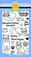 Sunny Studio - Clear Stamp - Furever Friends