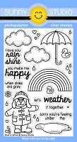 Sunny Studio - Clear Stamp - Rain or Shine