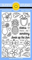 Sunny Studio - Clear Stamp - Tropical Paradise