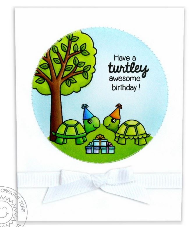 Sunny Studios - Spring stamps and dies