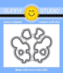 Sunny Studio - Cutting Dies - Turtley Awesome
