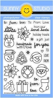 Sunny Studio - Clear Stamp - Christmas Icons