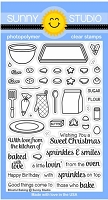 Sunny Studio - Clear Stamp - Blissful Baking