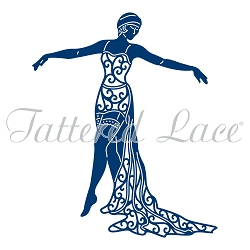 Tattered Lace - Dies - Cabaret Girl Jenny