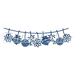 Tattered Lace - Dies - Flowers Washing Line