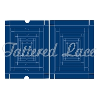 Tattered Lace - Dies - Essentials A5 Box Bases & Box Lids (requires large format machine)