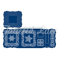 Tattered Lace - Dies - Essentials Snowflakes Craft a Card