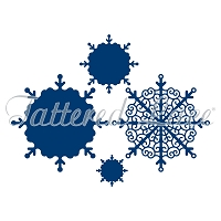 Tattered Lace - Dies - Essentials Decorative Detail Snowflakes