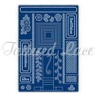 Tattered Lace - Dies - Essentials Double Cascading Waterfall (requires large format machine)