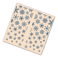 Tattered Lace - Embossing Folder - Gatefold Christmas Snowflakes