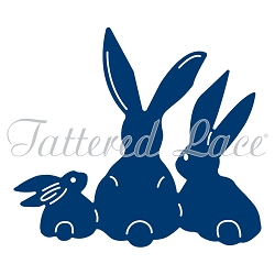Tattered Lace - Dies - Bunnies, A Family Affair