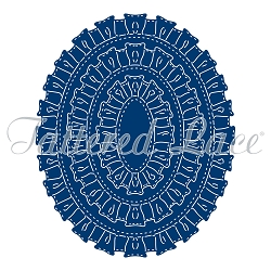 Tattered Lace - Dies - Velvet Lace Ruffle Ovals