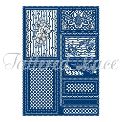 Tattered Lace - Dies - Decorative Inset Stepper (requires large format die cutting machine)