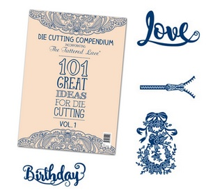 Tattered Lace - Die Cutting Compendium + new dies