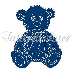 Tattered Lace - Dies - Snuggles Teddy