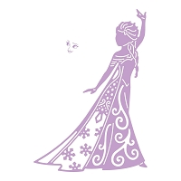 Tattered Lace - Dies - Disney Frozen Elsa