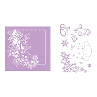 Tattered Lace - Dies - Disney Frozen Melded Olaf & Stamp Set