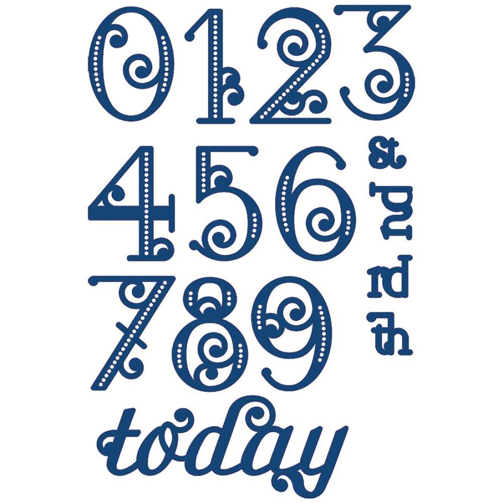Image Gallery Elegant Numbers