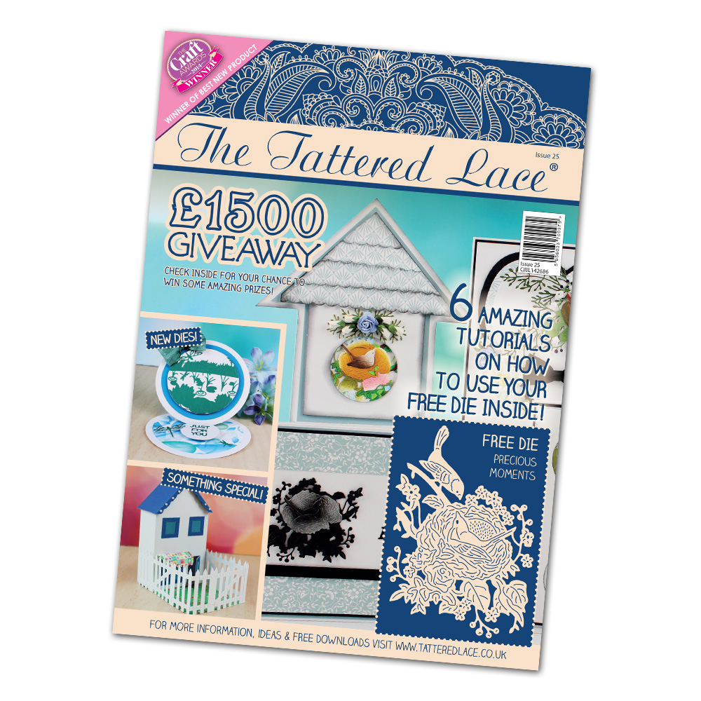 Tattered Lace - Magazine #25 + new dies