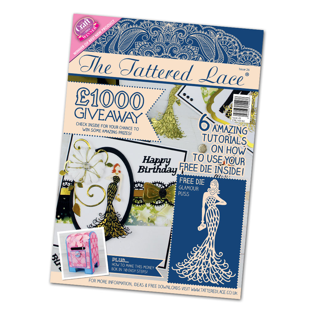 Tattered Lace Magazine 26 + new dies
