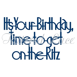 Tattered Lace - Dies - Art Deco It's Your Birthday Time to Get on the Ritz
