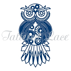 Tattered Lace - Dies - Essentials Steampunk Owl