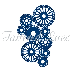 Tattered Lace - Dies - Essentials Steampunk Tuck In