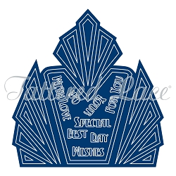 Tattered Lace - Dies - Art Deco Iconic Deco Card Shape