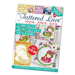 Tattered Lace - Tutorial Magazine & Die Kit - Issue 39
