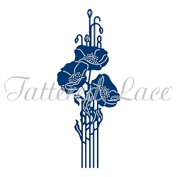 Tattered Lace - Dies - Essentials Deco Poppy
