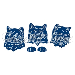 Tattered Lace - Dies - Essentials Cat Paw-trait