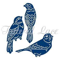 Tattered Lace - Dies - Essentials Trio of Birds